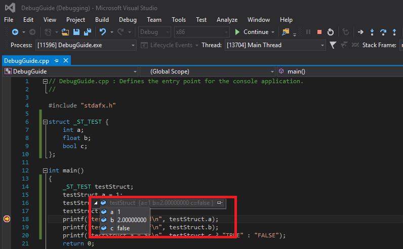 Kỹ thuật debug trên Visual Studio   CppDeveloper